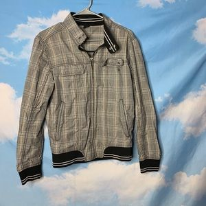 Zara Man- Plaid Long Sleeve Jacket size Large